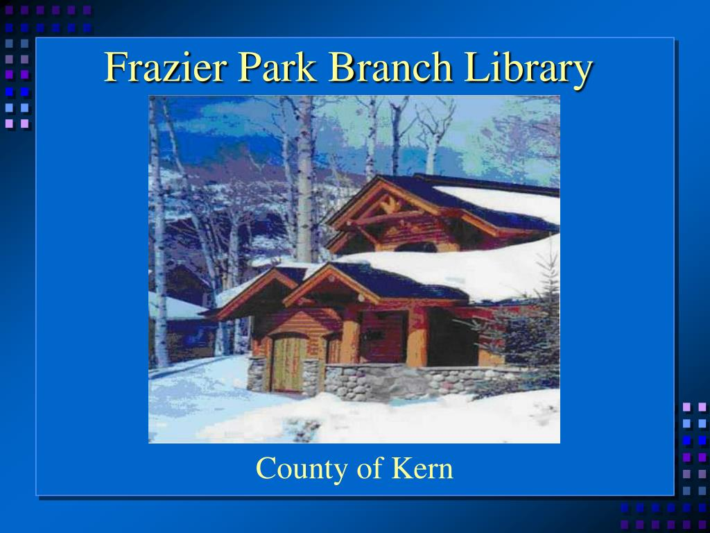 Frazier Park Branch Library
