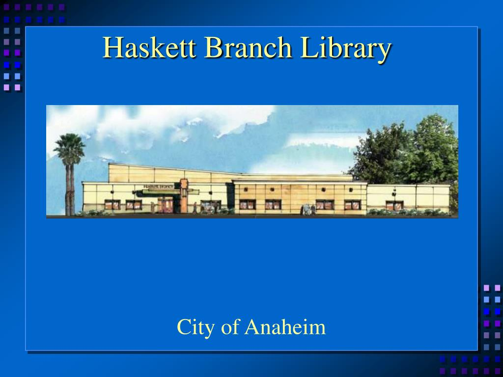Haskett Branch Library