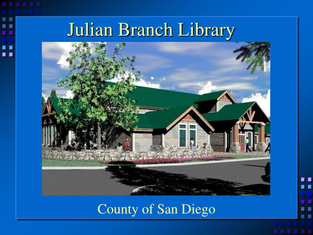 Julian Branch Library