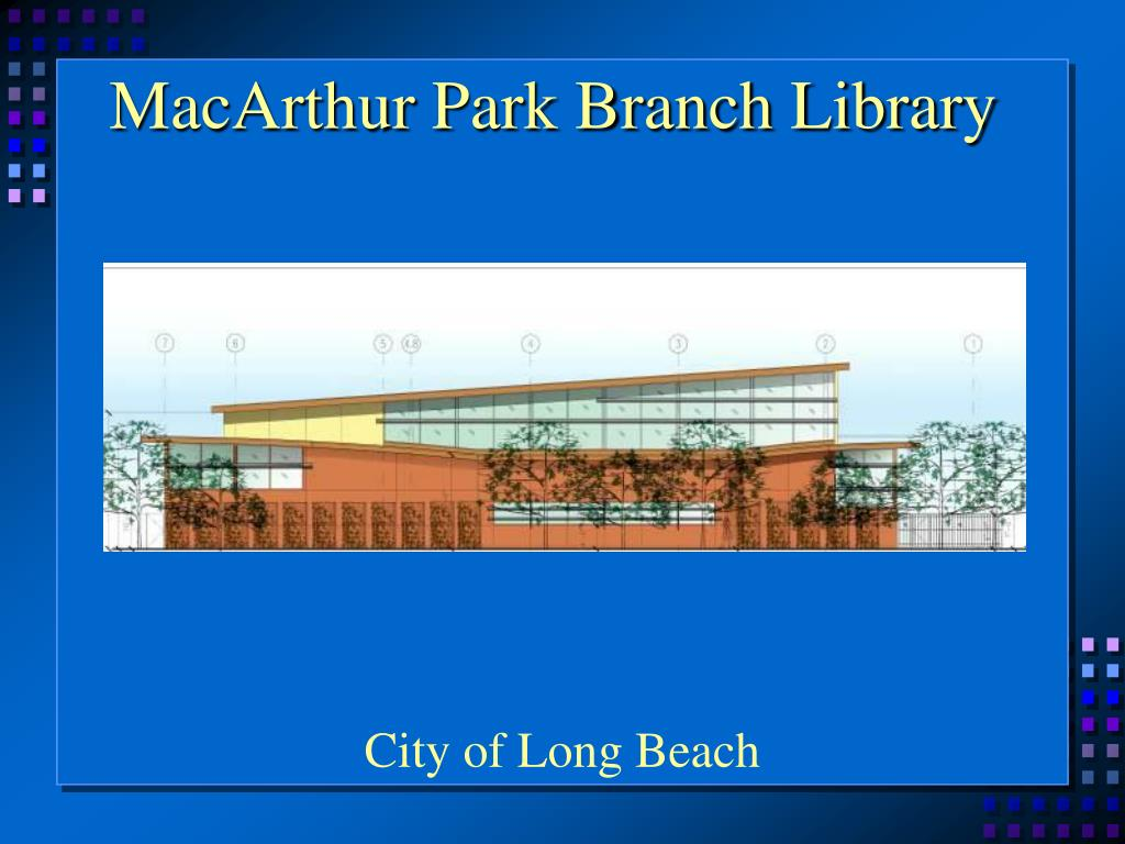 MacArthur Park Branch Library