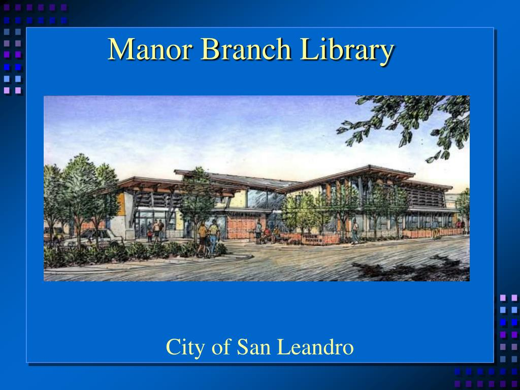 Manor Branch Library