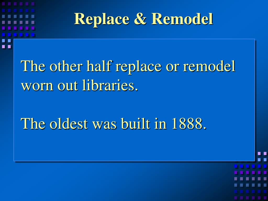 Replace & Remodel