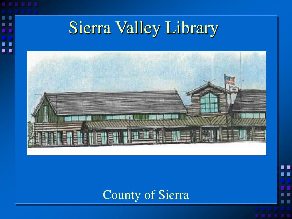Sierra Valley Library