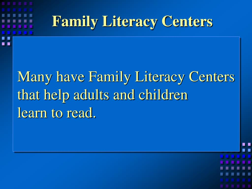 Family Literacy Centers