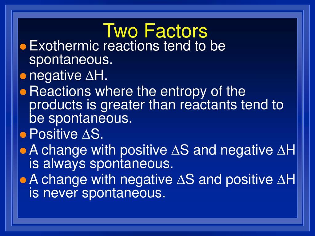 Two Factors