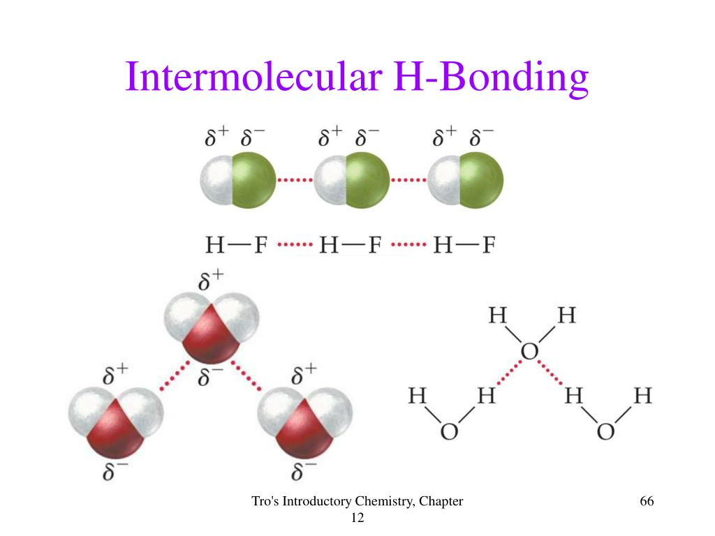 Intermolecular H-Bonding