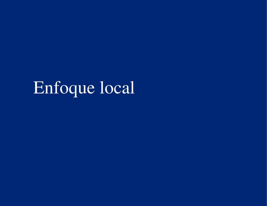 Enfoque local