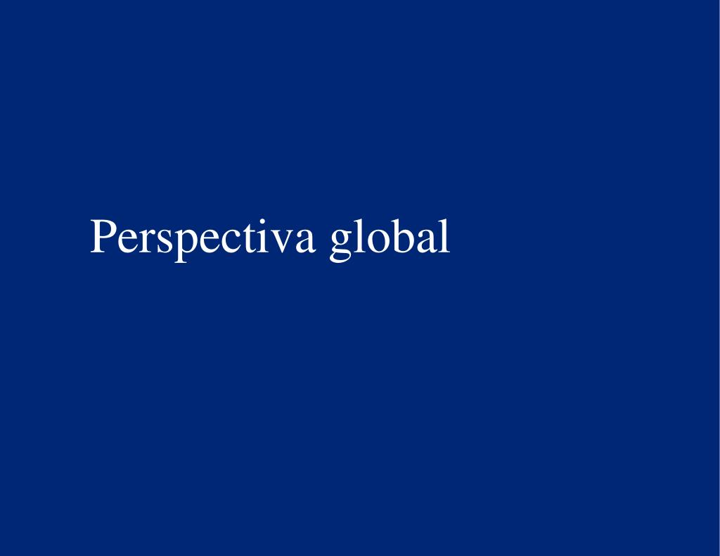 Perspectiva global
