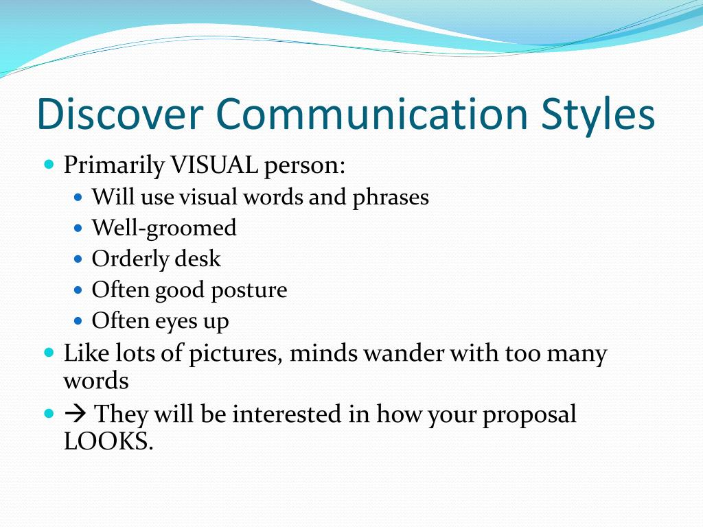 Discover Communication Styles