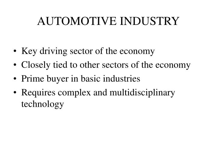 Automotive industry2