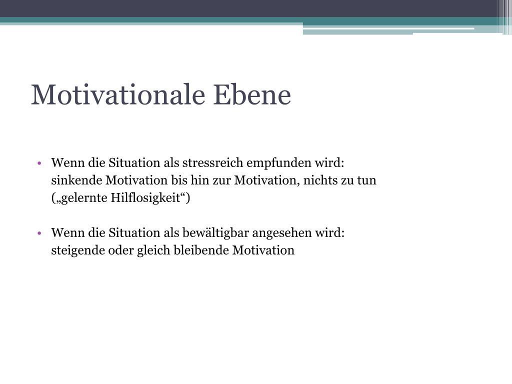Motivationale