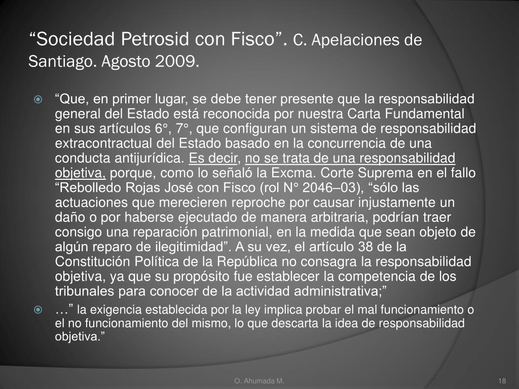 """""""Sociedad Petrosid con Fisco""""."""