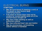 electrical burns15