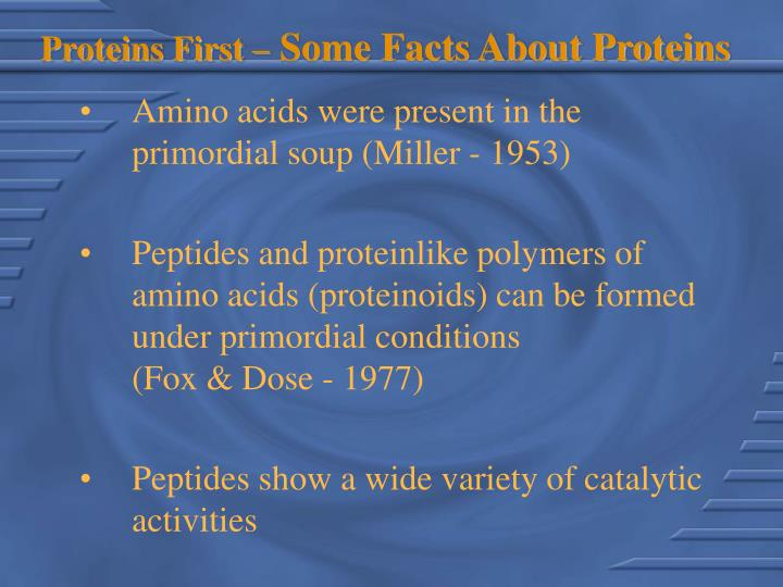 Proteins first some facts about proteins l.jpg
