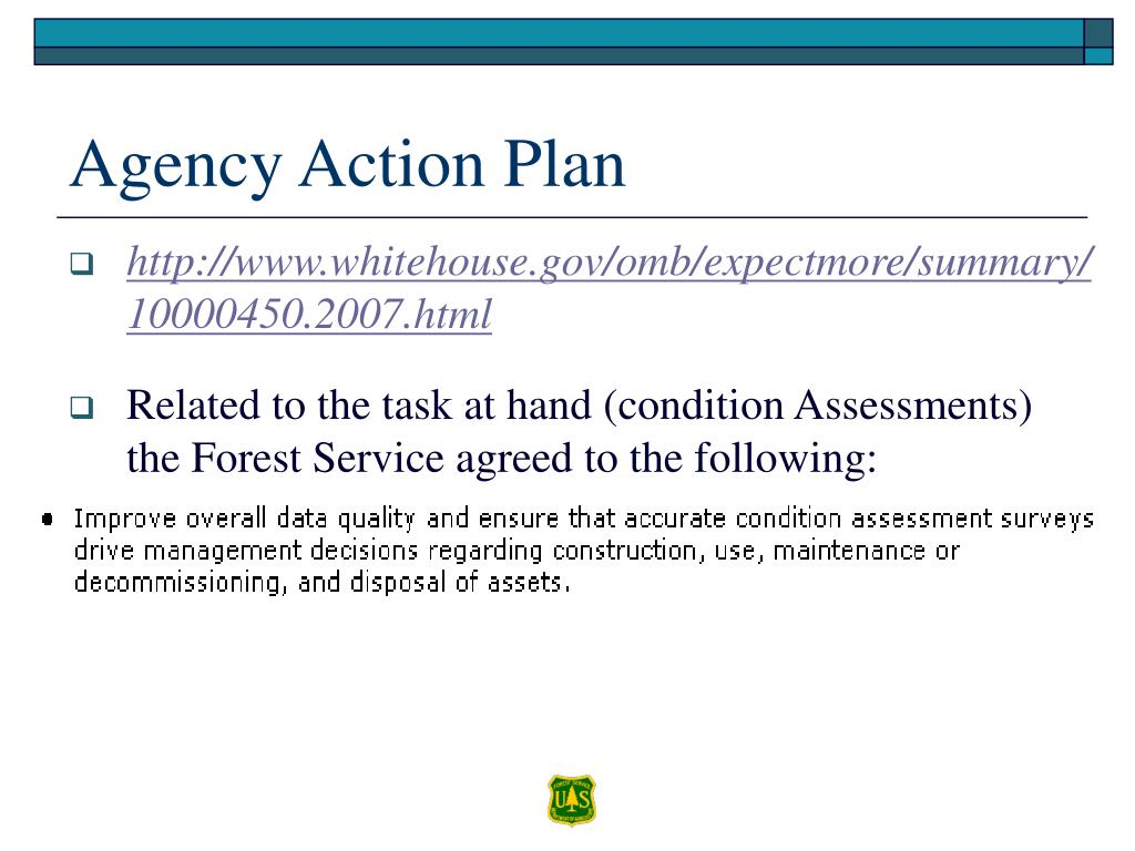 Agency Action Plan