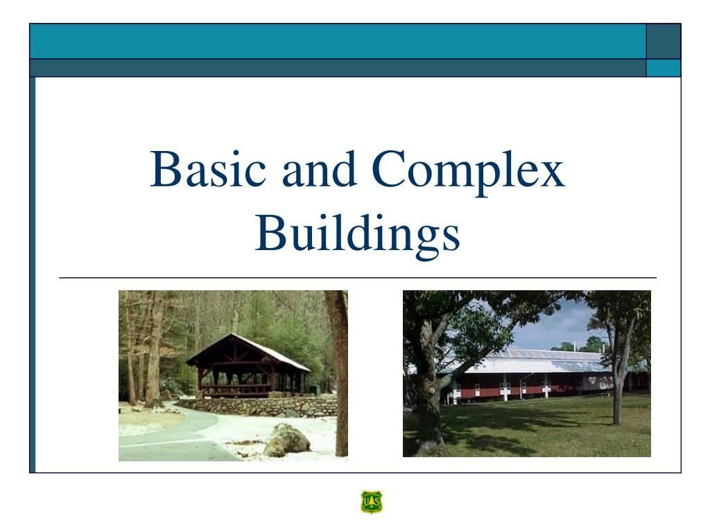 Basic and Complex Buildings