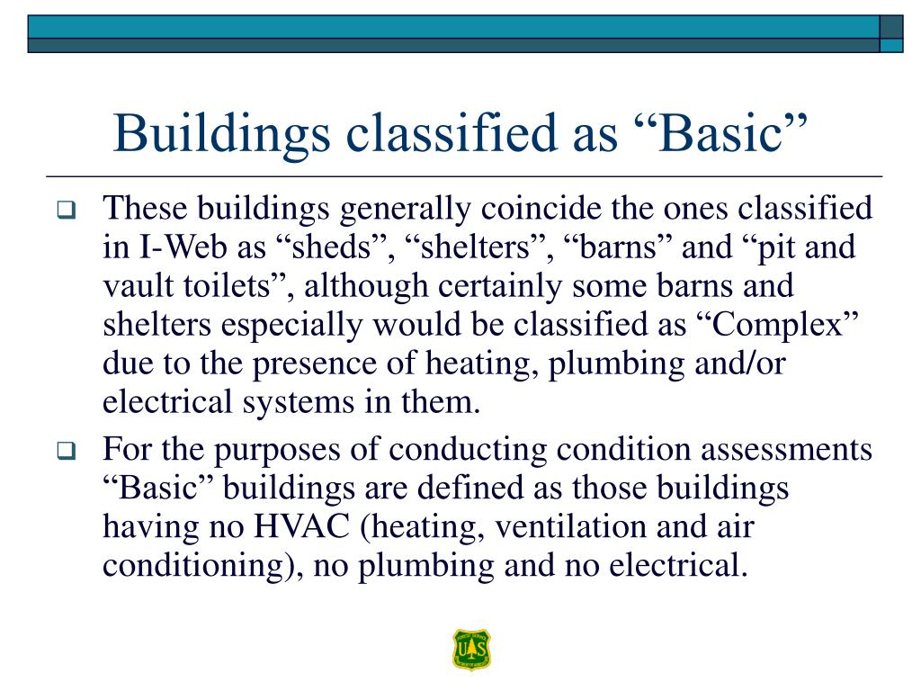 "Buildings classified as ""Basic"""