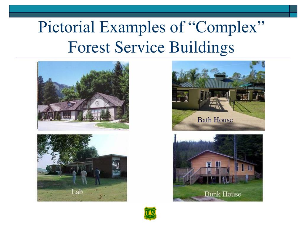 "Pictorial Examples of ""Complex"" Forest Service Buildings"