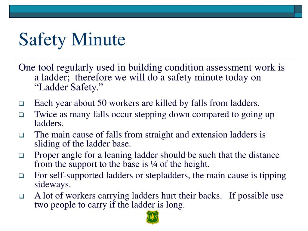 Safety Minute