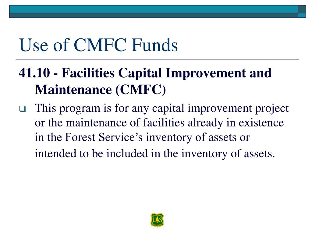Use of CMFC Funds
