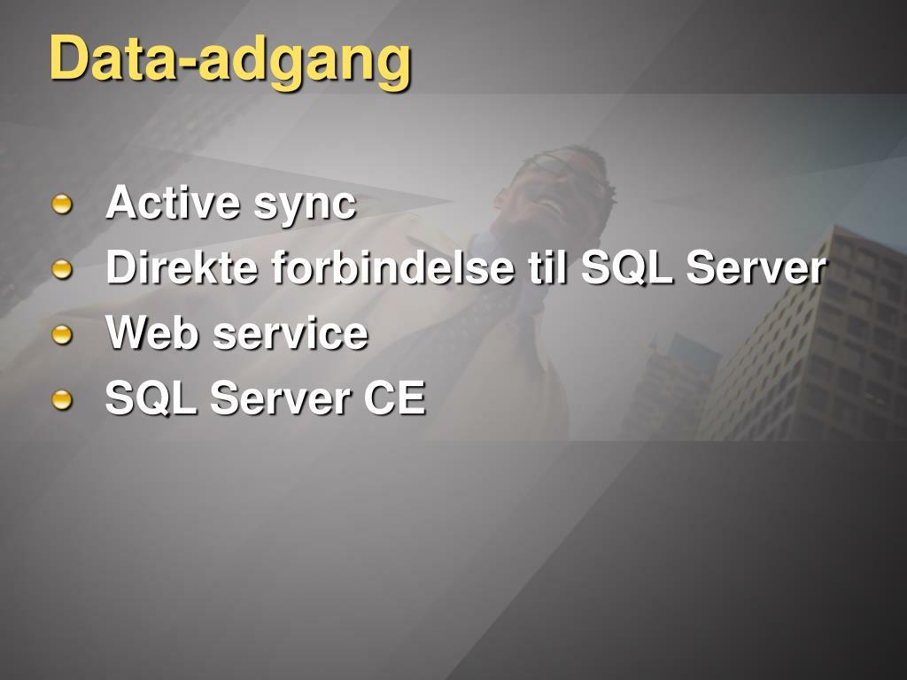 Data-adgang