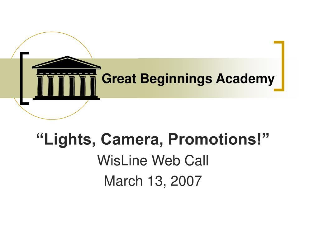 Great Beginnings Academy