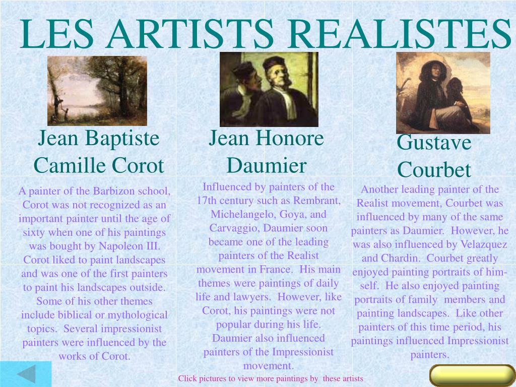 LES ARTISTS REALISTES