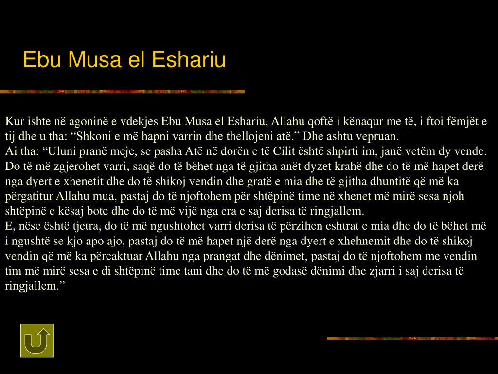 Ebu Musa el Eshariu