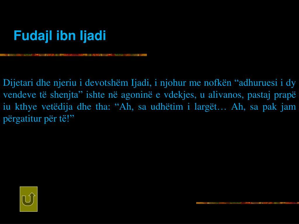 Fudajl ibn Ijadi
