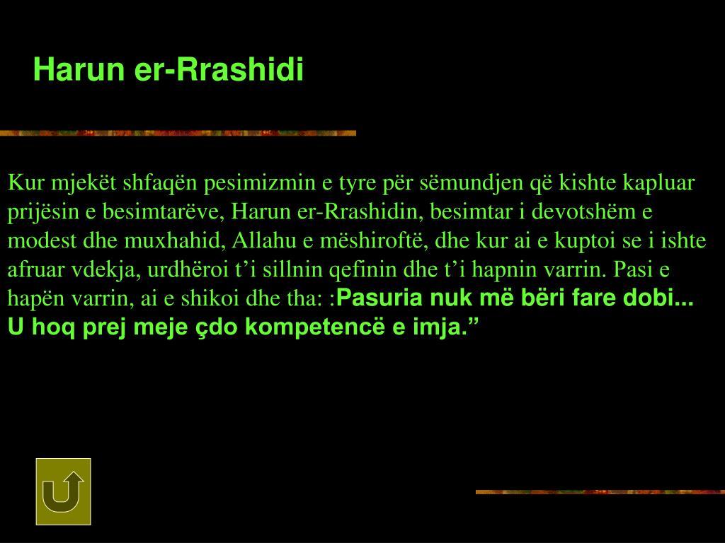 Harun er-Rrashidi