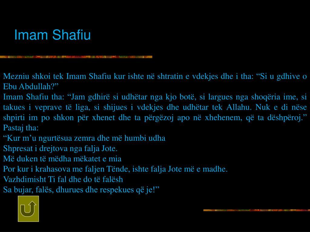 Imam Shafiu
