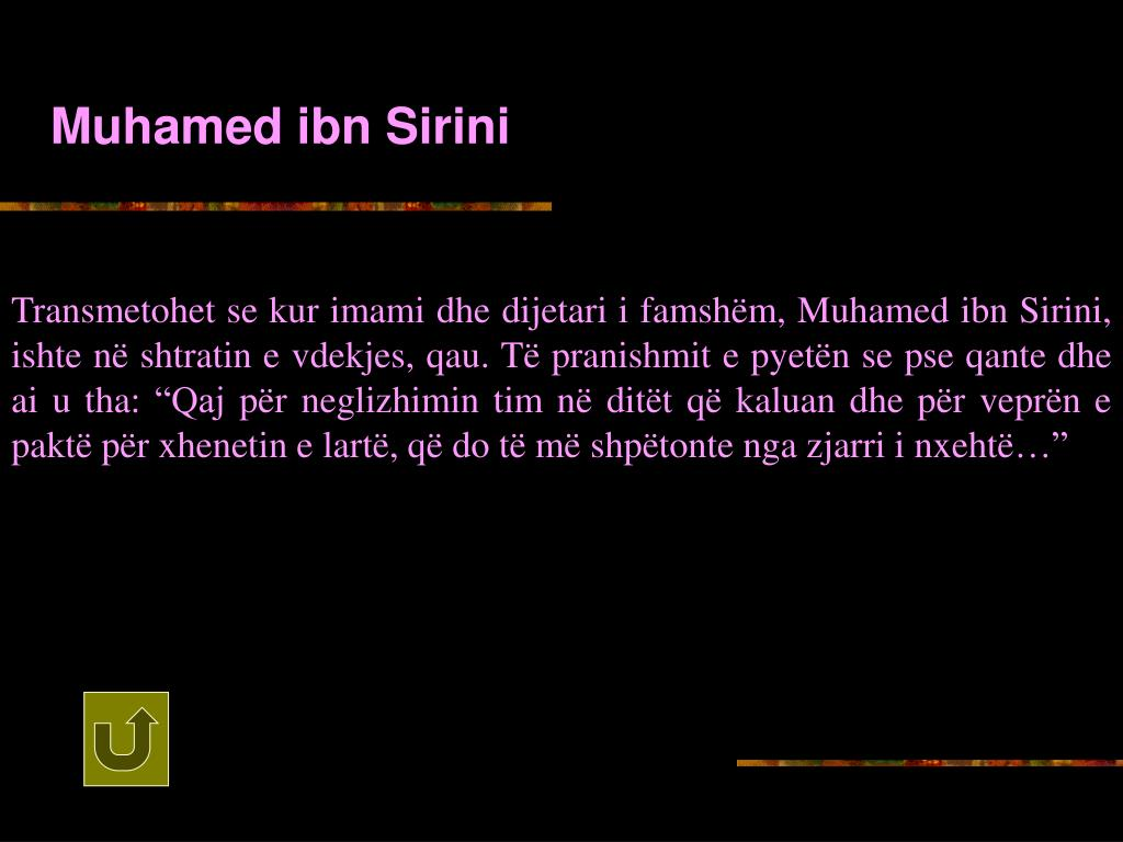 Muhamed ibn Sirini