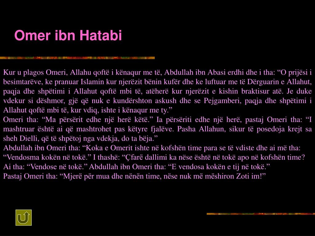 Omer ibn Hatabi