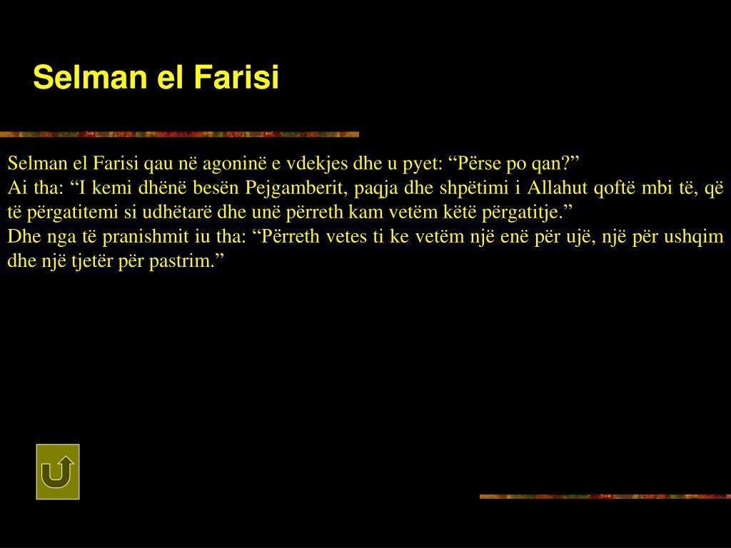 Selman el Farisi