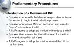parliamentary procedures26