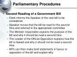 parliamentary procedures28