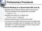parliamentary procedures30