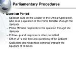 parliamentary procedures32