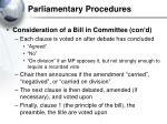 parliamentary procedures34