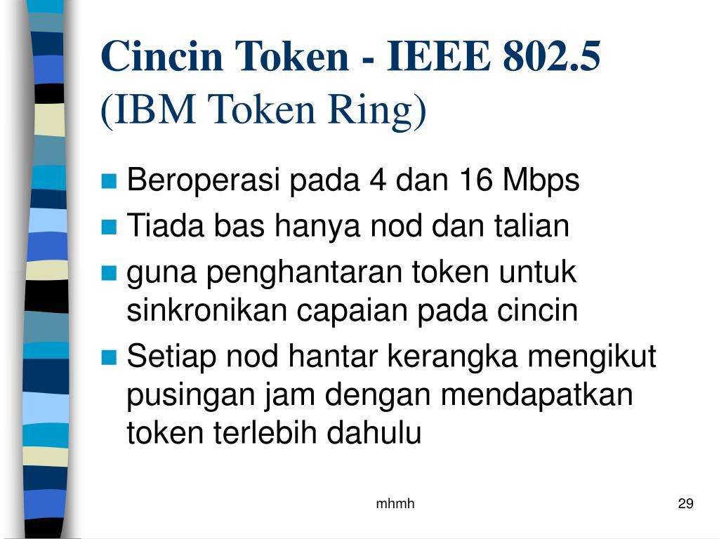 Cincin Token - IEEE 802.5