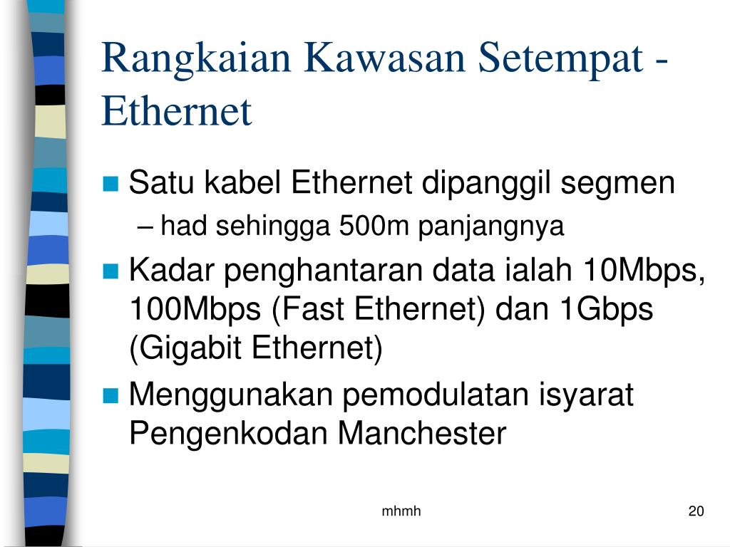 Rangkaian Kawasan Setempat - Ethernet