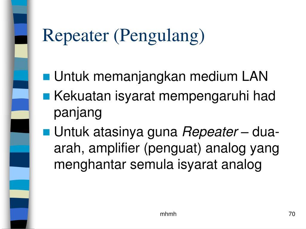 Repeater (Pengulang)