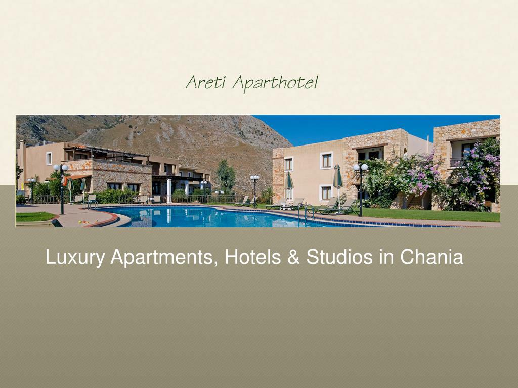 Luxury Apartments, Hotels & Studios in Chania