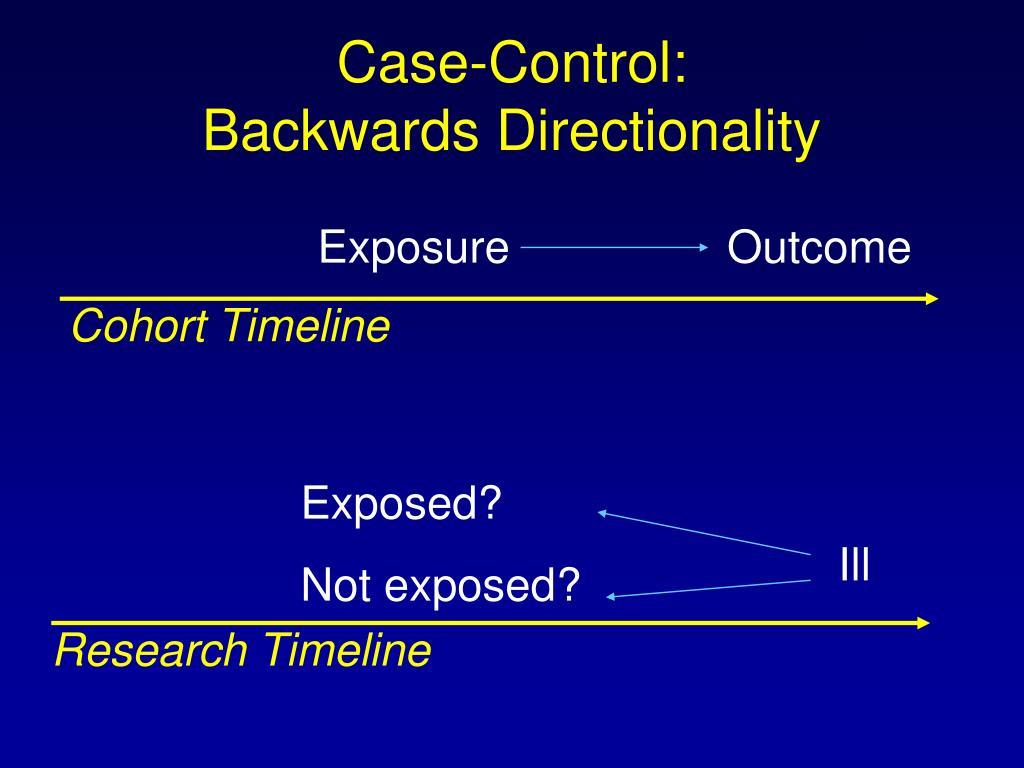 Case-Control: