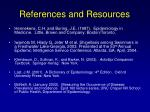 references and resources105
