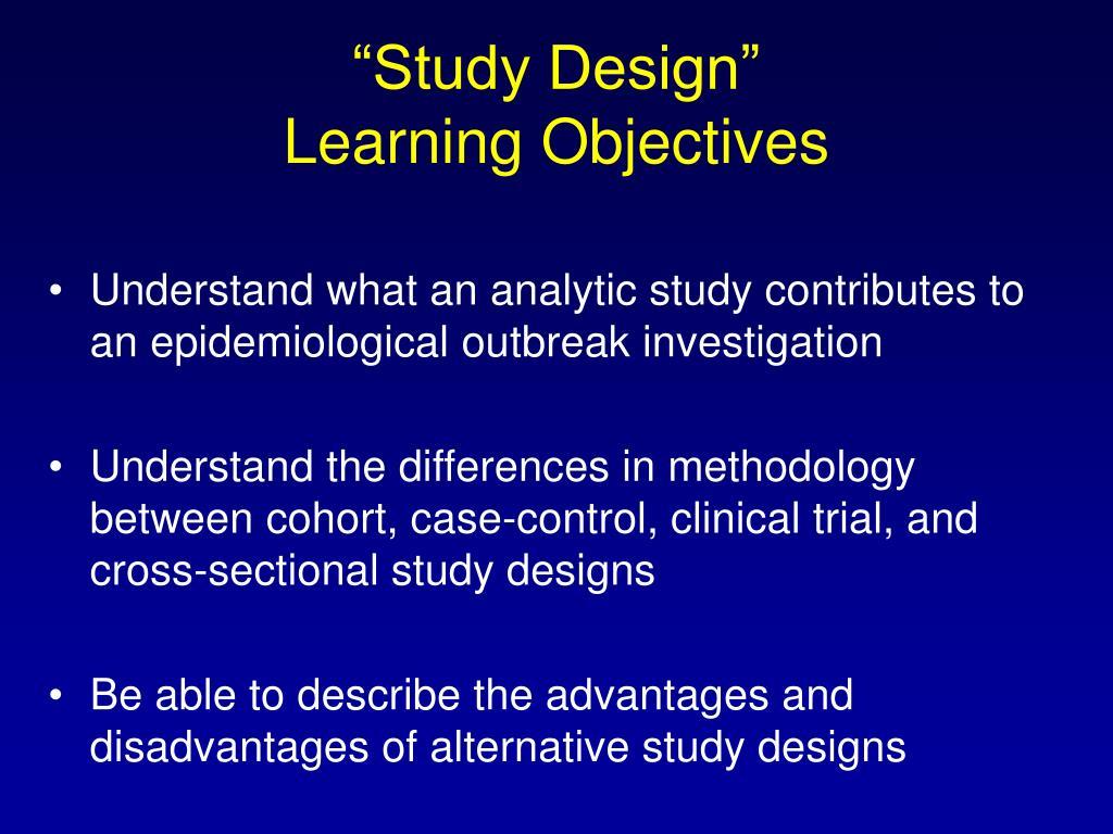 """Study Design"""
