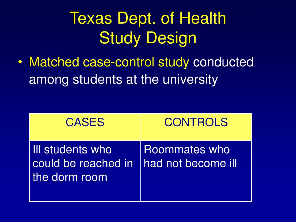 Texas Dept. of Health