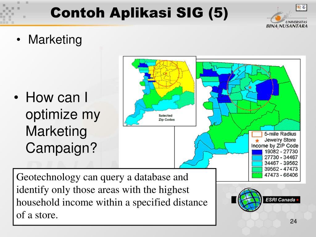 Contoh Aplikasi SIG (5)