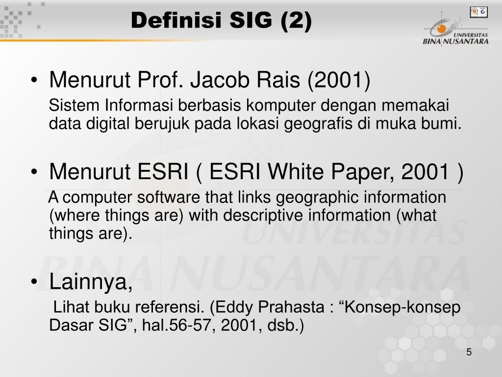 Definisi SIG (2)