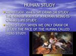 human study